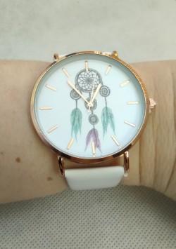 Dámské hodinky bílé, lapač snů