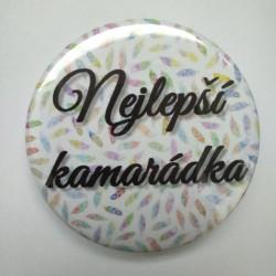 Placka, odznak velikosti 58 mm