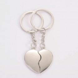 Zamilované klíčenky pro páry Srdce