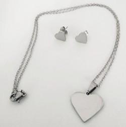 Ocelová sada šperků