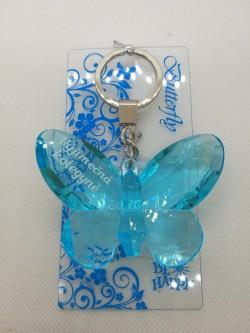 Přívěšek, klíčenka motýl s nápisem Výjimečná kolegyně