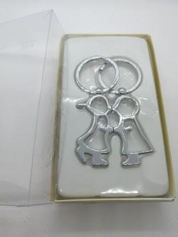 Zamilované klíčenky pro páry s magnetem