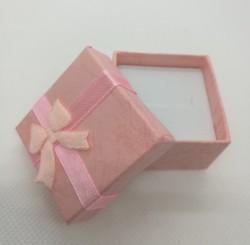 Dárková krabička na šperky růžová