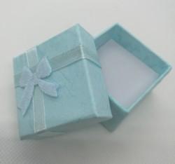 Dárková krabička na šperky modrá