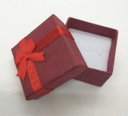 Dárková krabička na šperky červená