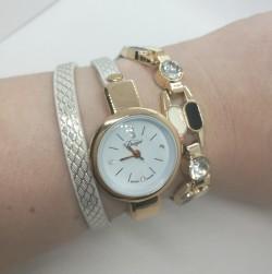 Dámské hodinky QUARTZ, náramkový vzhled